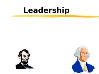 Leadership & Manager 比較領導者與管理者.ppt