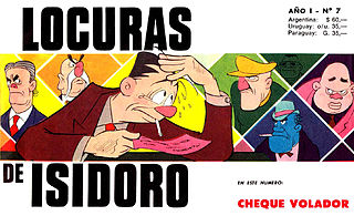 Isidoro N°007 - Cheque Volador.cbr