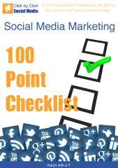Social Media Marketing 100 Point Checklist.pdf