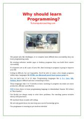 Why should learn Programming.doc