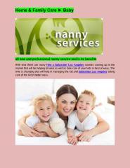 find a nanny Los Angeles.PDF