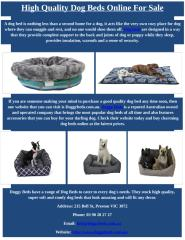 High Quality Dog Beds Online for Sale.docx
