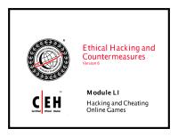 CEHv6 Module 51 Hacking and Cheating Online Games.pdf