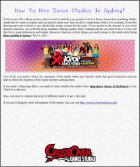 How To Hire Dance Studios In Sydney.pdf