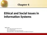 busstats2ce ppt ch04 9781111533960_ppt_ch04 + report mis chapter 4 personal, legal, ethical, and organizational issues of information systems hossein bidgoli mis.
